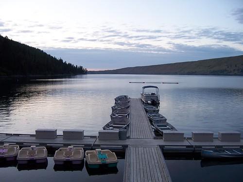 boats at wallowa lake