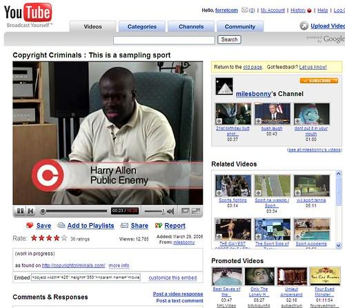 Youtube layout: beta