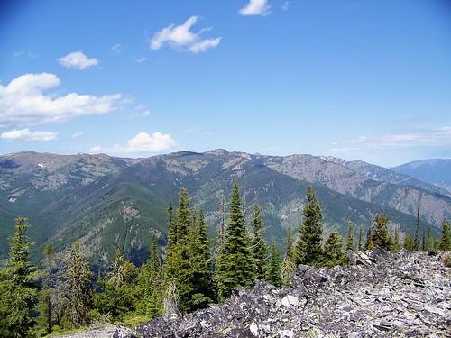 Cherry Peak roadless area, North slope