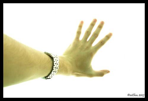 Hand on