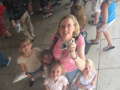 Five of Us in the Bean