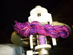 Oriental Poppies Targhee Plied