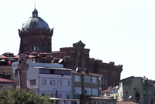 Red School, Greek School, Fener Rum Lisesi, Golden Horn Balat, Istanbul, pentax k10d