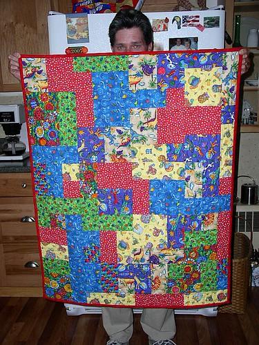 Tetris quilt