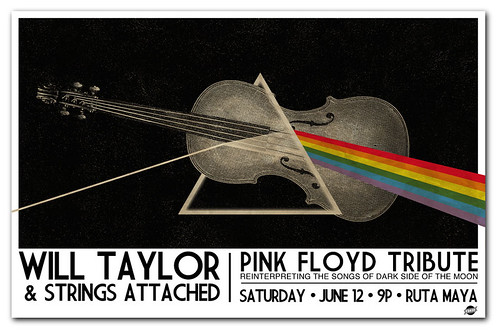 Gigposter for Will Taylor and Strings Attached