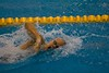 Story of a 200m freestyle- the swim