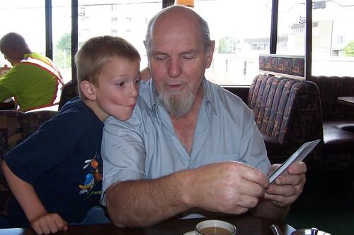 J & Grandpa