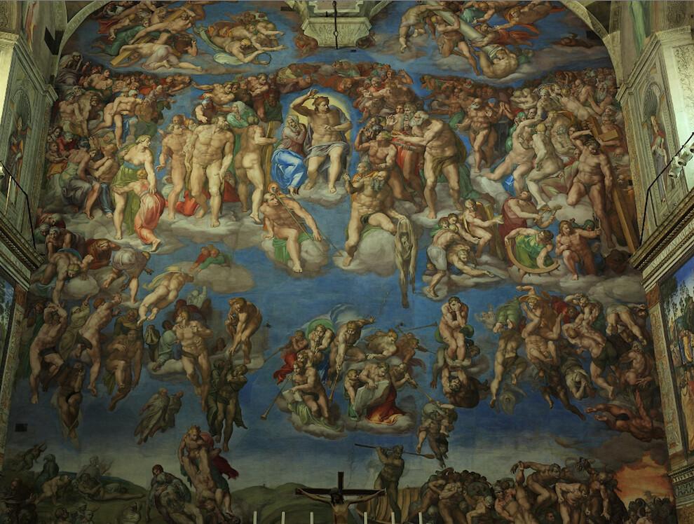 5189289086 3c85b12281 b Sistine Chapel   Incredible Christian art walk through