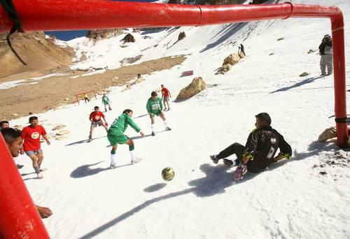 Futbol en los Andes