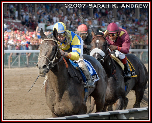 Street Sense and Calvin Borel run a DANDY of a race
