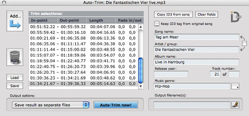 MP3 Trimmer Auto-Trim Editor