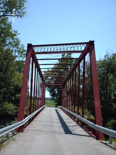 Marion Center Road truss bridge