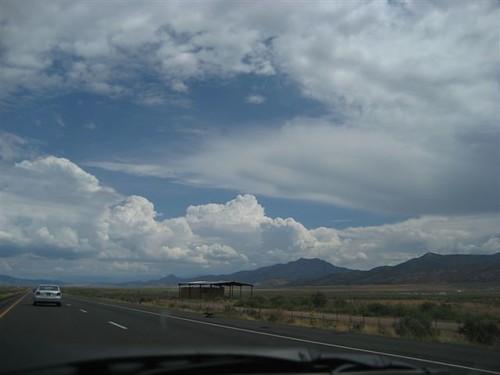 Clouds Along I-15