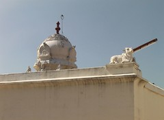 Vimanam of Sanctum Sanctorum