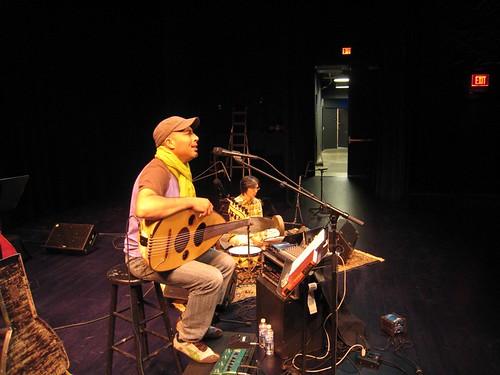 Dhafer Youssef and Satoshi Takeishi