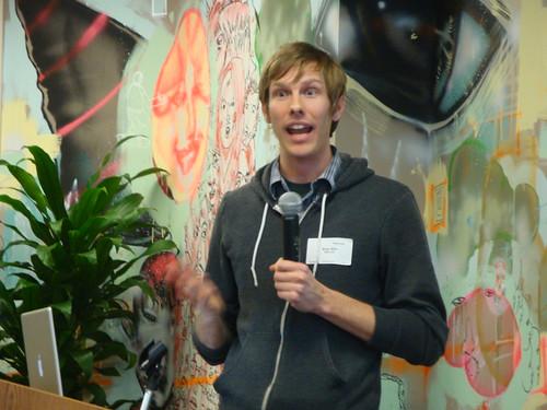Brian Ellin of JanRain at #openidux