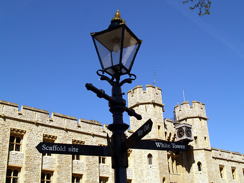 A British signpost