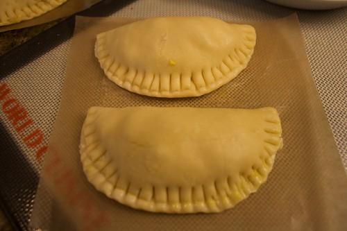 Image of empanadas ready for baking