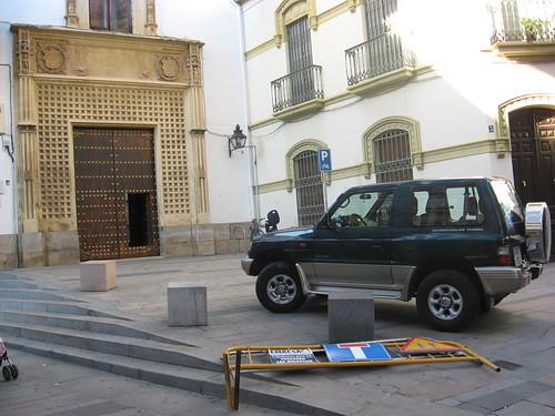 Todo Terreno acercando niños a las calles del centro en Córdoba.