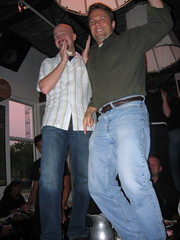 Troy & Scott J. Dancing on the Tables at Opa's