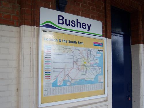 bushey station