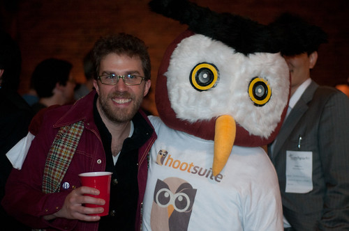 Owly at Launch Party 9 Vancouver