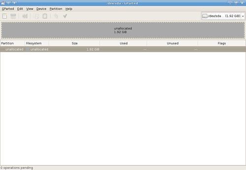 Preparing my USB drive for persistence - clear partitions