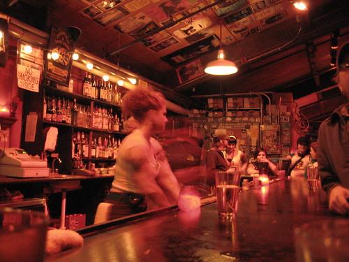 John Henry's bar -- roller derby