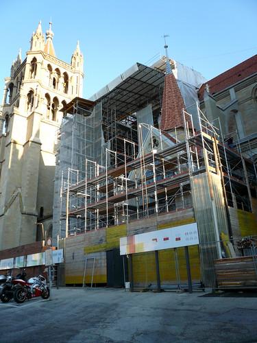 Portail peint Cathédrale (21 septembre 2007)