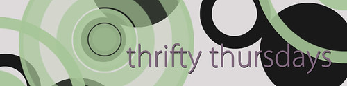 THRIFTY THURSDAYS FLAT header