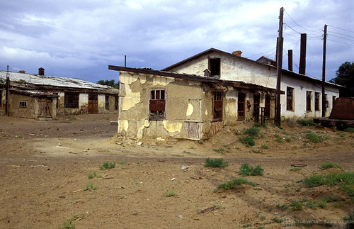 Casas abandonadas en Moynaq