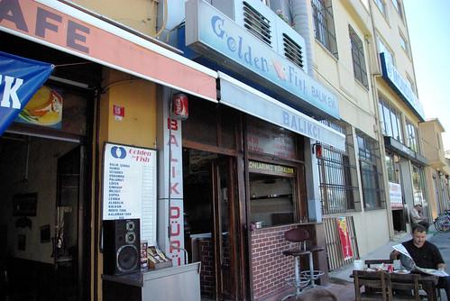 Golden fish restaurant, Balat Istanbul, Pentax k10d