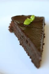 Flourless Chocolate-Basil Torte 2