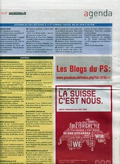 Adresse du blogue du PS