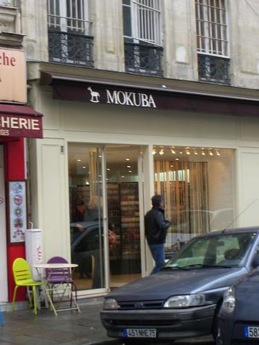 Outside Mokuba, Paris