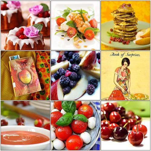 food + books, inspiring