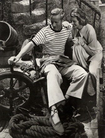 Leslie Howard and Ingrid Bergman in Intermezzo, 1939