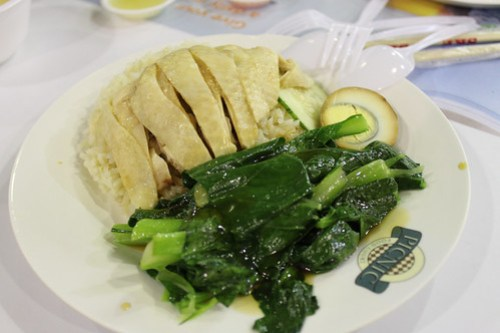 Hainanese Chicken at Lau Pa Sat