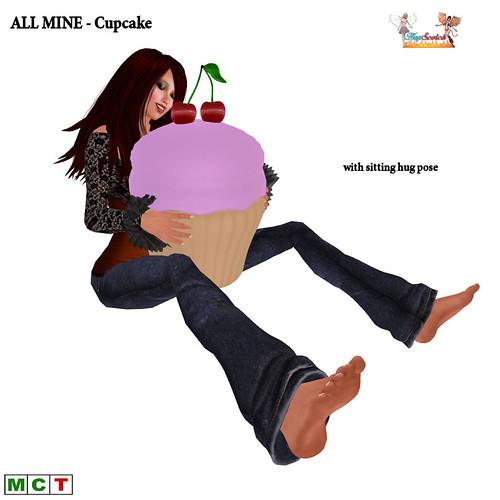ALL MINE Cupcake