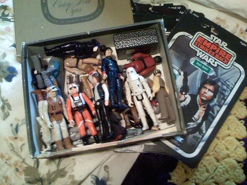 My Star Wars toys...