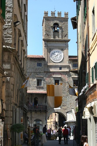 Cortona Clock Tower by jschneid.