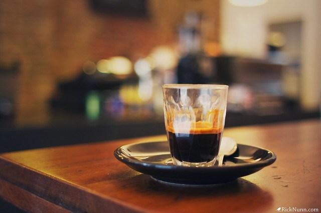 Espresso at Kaffeine