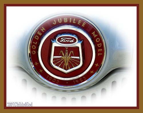 Ford Tractor Emblem