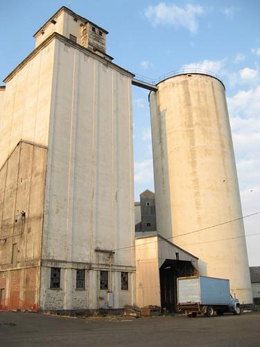Grain elevator.