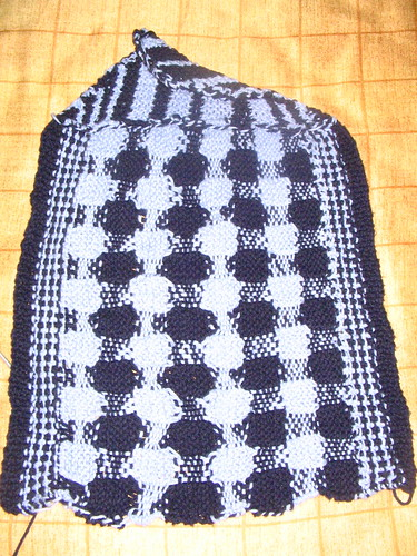 Gingham towel