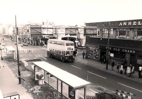 Changes in Park Street, Walsall, August 1975