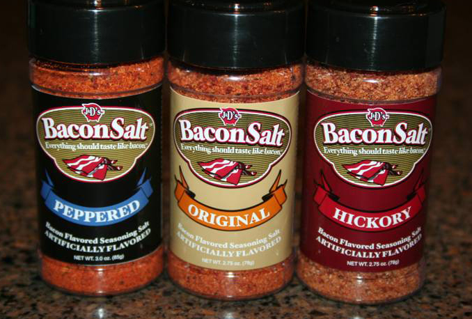 Bacon Salt - designed by Savoy Productions