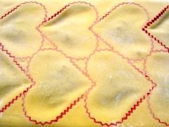 Ochsenschwanzravioli Matritze