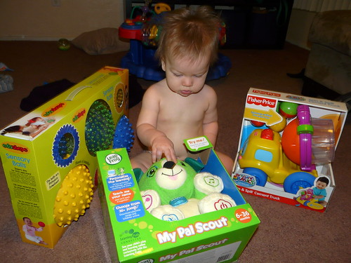 Ollie's 1st birthday