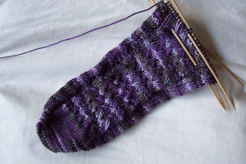 MCW socks - toe